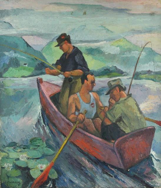 Frederick Buchholz, 'Fishermen', 1930, VHD Gallery