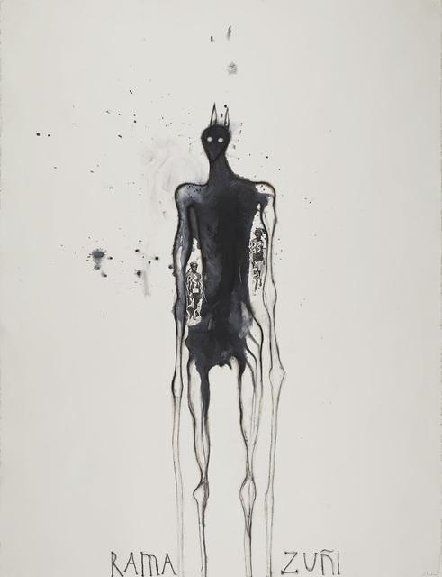 José Bedia, 'Rama Zuñi', 2001, Cavin-Morris Gallery
