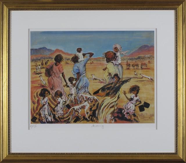 Elizabeth Durack, 'Morning ', 1935-2000, Wentworth Galleries