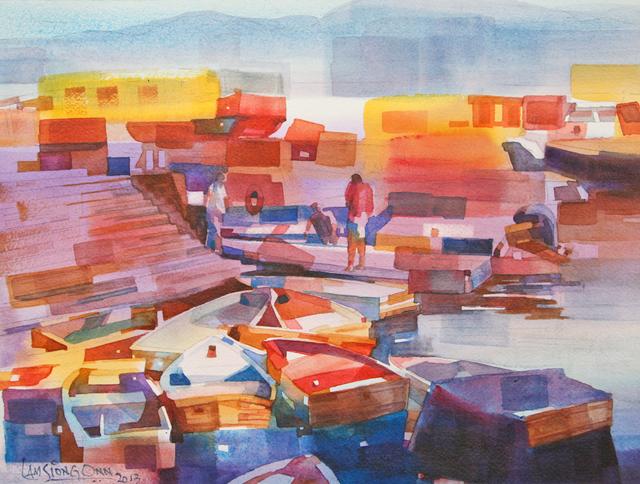 , '#2 Fishing Boats,' 2014, Affinity ART