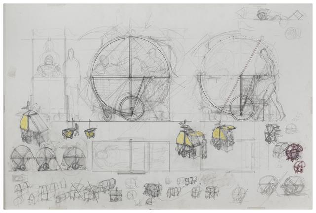 , 'Study for Homeless Vehicle,' 1986, Galerie Lelong & Co.