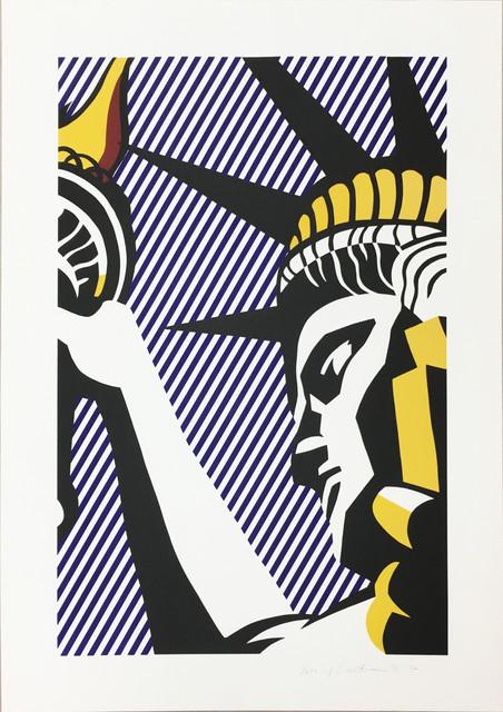 Roy Lichtenstein, 'I Love Liberty', 1982, Upsilon Gallery