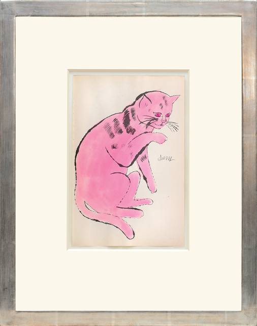 , 'Sam. [Sitting pink cat with red eyes.],' 1954, Peter Harrington Gallery
