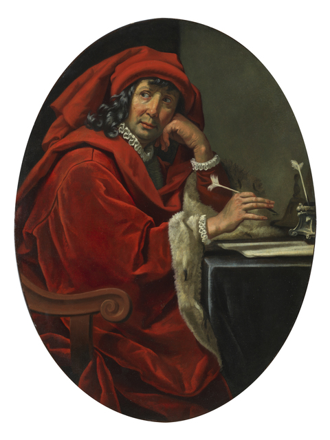 , 'Portrait of a 15th-century scholar (Lorenzo the Magnificent?),' 1630-1640, Brun Fine Art