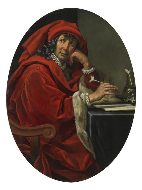 , 'Portrait of a 15th-century scholar (Lorenzo the Magnificent?),' 1630-1640, Brun Fine Art