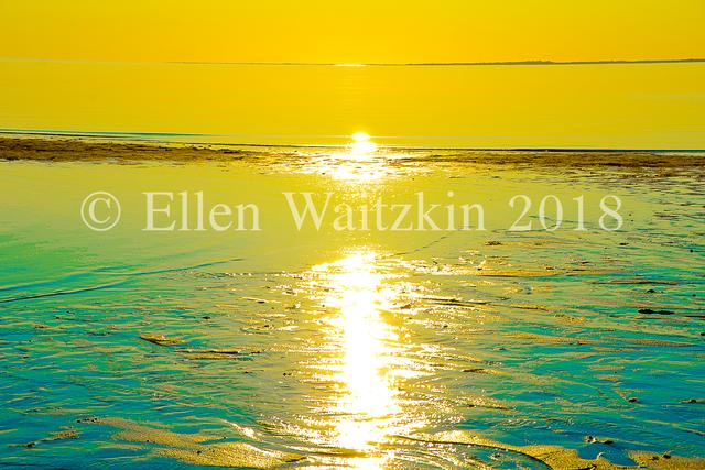 , 'Corn Hill Yellow Sunset,' , L'Attitude Gallery