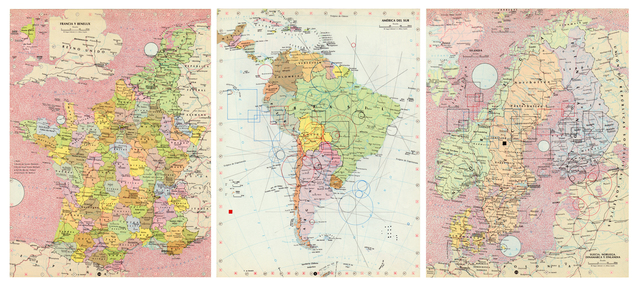 , 'Mapas,' 2012, MARSO
