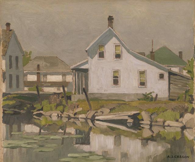 , 'Arden Village,' 1957, Canadian Fine Arts