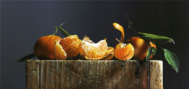 , 'Tangerines,' 2019, William Baczek Fine Arts