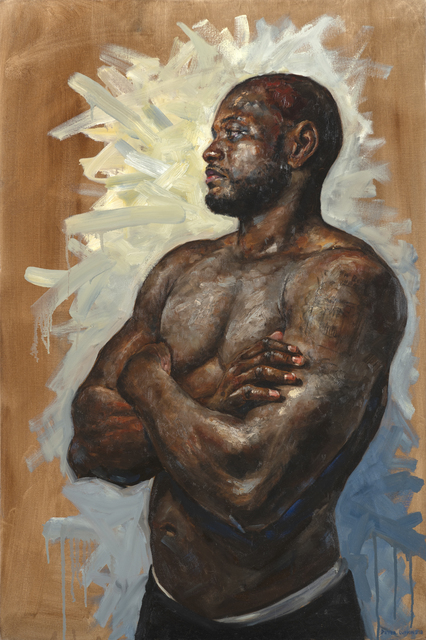 , 'Portrait of a Fighter,' 2019, Gallery Victor Armendariz