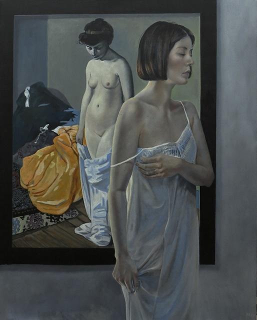 , 'Atelierbild Vallotton, Mit geschlossenen Augen,' 2017, Joerg Heitsch Gallery