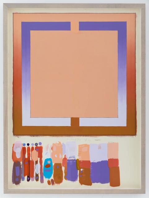 , 'Volcano Study,' 1971, Eric Firestone Gallery