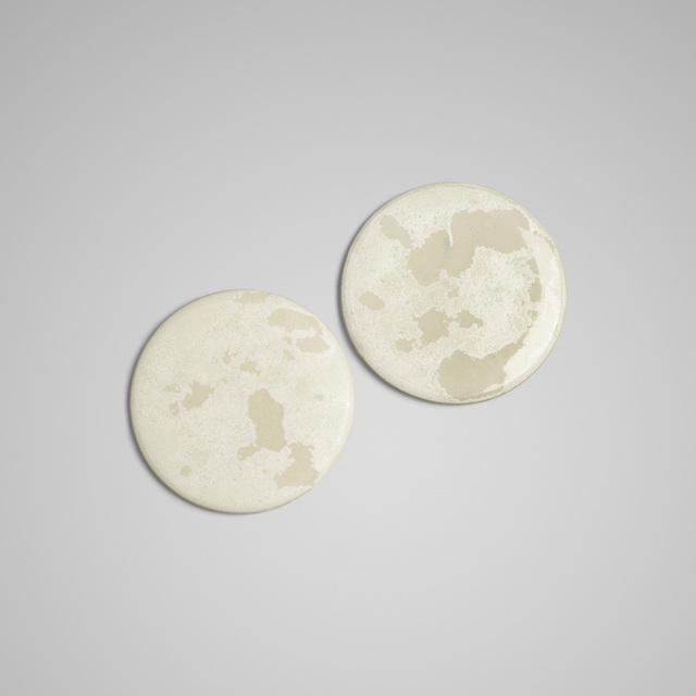 Aage and Kasper Wurtz, 'serving stones, pair', Wright