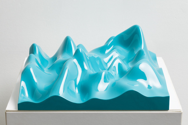 , 'Unknown Pleasure, Oriental Blue,' 2011, Paul Stolper Gallery