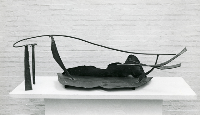 Anthony Caro, 'Table Piece CCII', 1974, Sculpture, Steel, varnished, C. Grimaldis Gallery