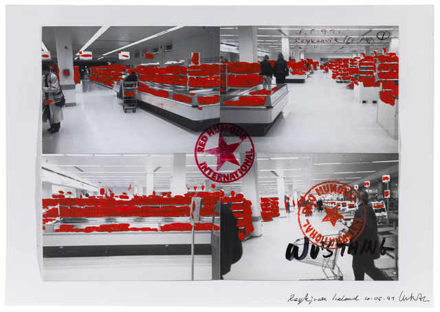 , 'Red Humour Supermarket《国际红色幽默超市》,' 1991, Long March Space