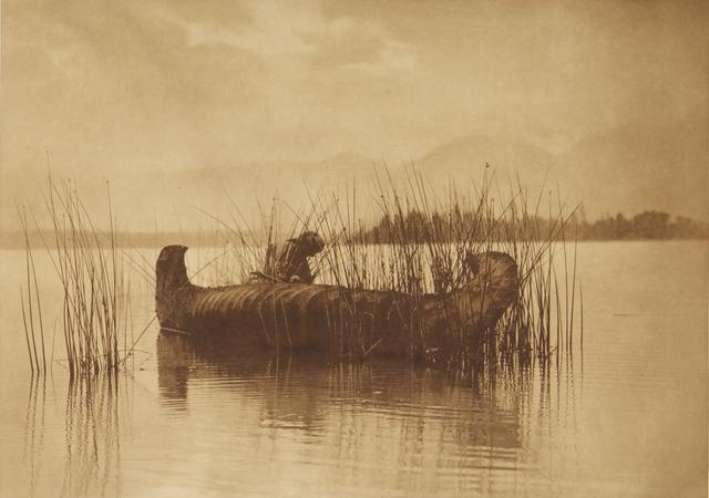 , 'The Rush Gatherer - Kutenai,' 1907-1930, Empty Gallery