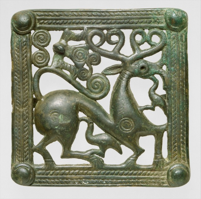 Unknown Designer, 'Belt clasp', ca. A.D. 1st–2nd century, The Metropolitan Museum of Art