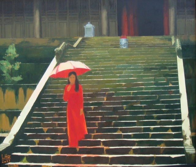 , 'Lady in Red,' 2012, Ai Bo Gallery