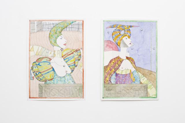 , 'PIN-UPS,  Repose, Clarity,' 2011, OTTO ZOO