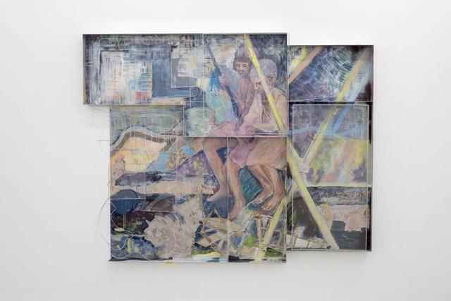 Sara Barker, 'Down their carved names the rain drop Ploughs', 2017, carlier | gebauer