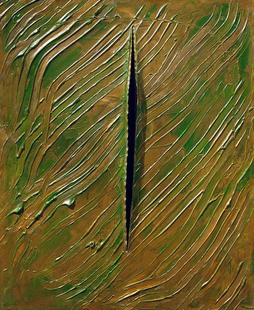, 'Concetto spaziale,' 1961, Tornabuoni Arte