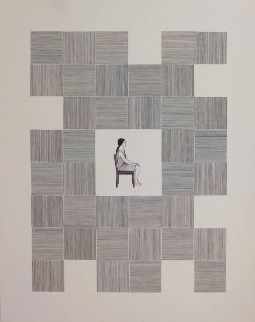 , 'n. 01 e 02 - Série Entrelinhas (díptico),' 2016, Gabinete de Arte k2o