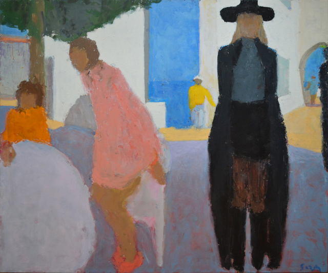 , 'Street Cafe II,' 2014, Cadogan Contemporary