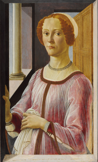 , 'Portrait of a Lady known as Smeralda Bandinelli,' 1470-1475, Victoria and Albert Museum (V&A)
