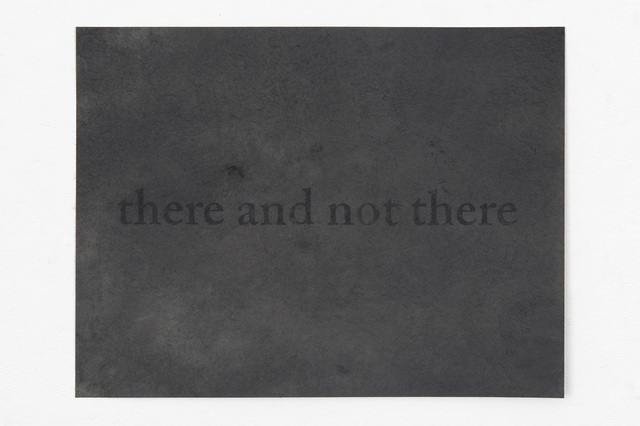 , 'there and not there,' 2016, PDX CONTEMPORARY ART