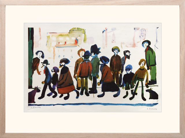 , 'People Standing About,' ca. 1970, Peter Harrington Gallery