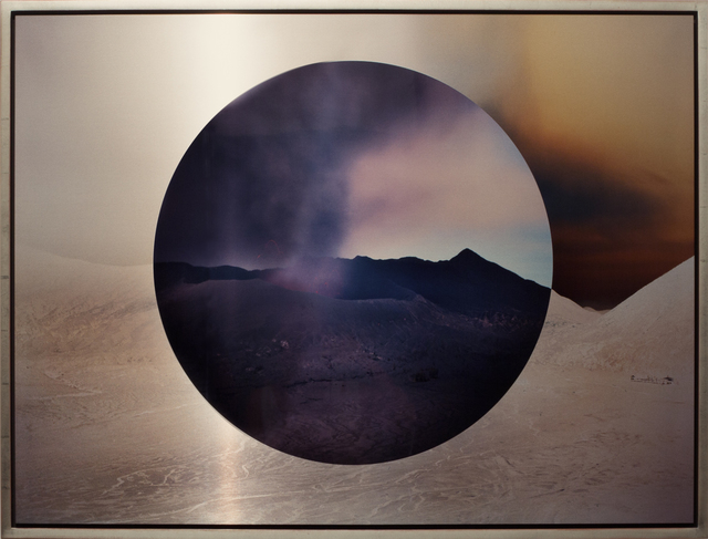 , 'Mt. Bromo at Night Circle Reversed,' 2011, Brian Gross Fine Art