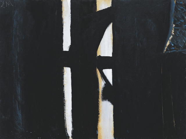 , 'Picture in Black,' ca. 1950, Dedalus Foundation