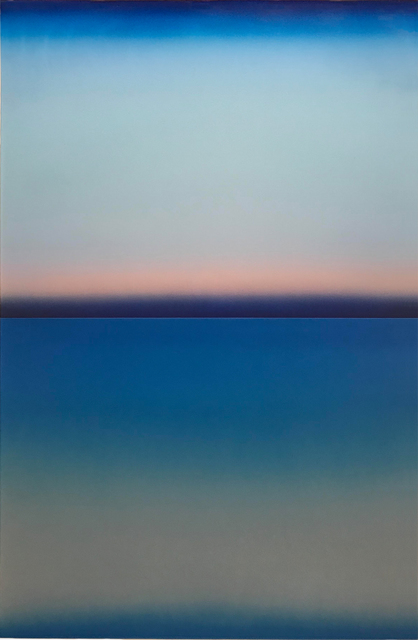 , 'Blue Level,' 2018, Nancy Toomey Fine Art