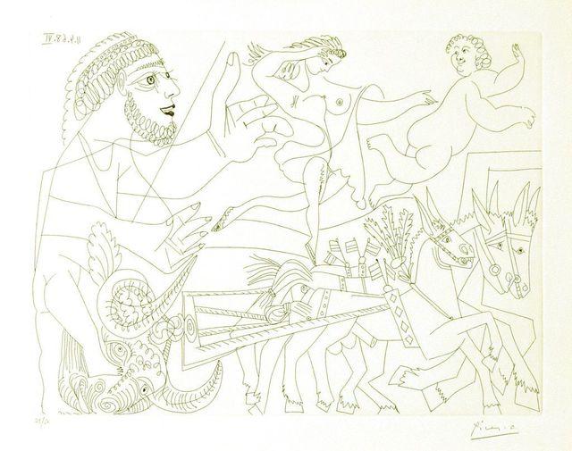 Pablo Picasso, 'Untitled, 11.4.68.VI.', 1968, Wallector