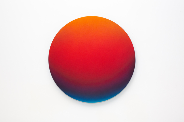 , 'Red Gradient,' 2018, Mirus Gallery