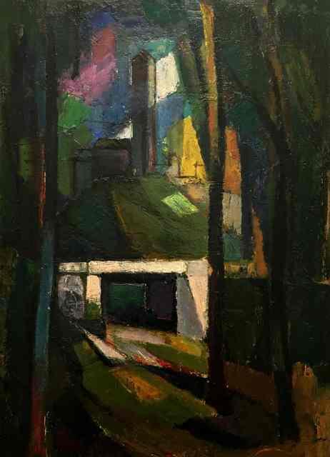 , 'Untitled (Street Scene),' ca. 1930s, Richard Norton Gallery