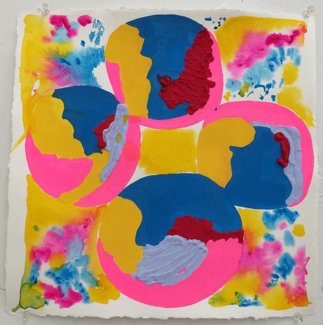 , 'Polychrome Quatrafoil#3,' 2013, Häusler Contemporary