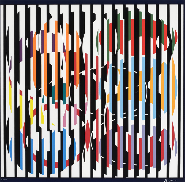Yaacov Agam, 'Composition', Doyle