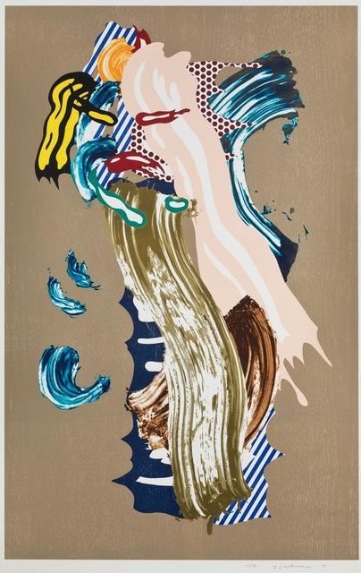 Roy Lichtenstein, 'Blonde, from Brushstroke Figures Series', 1989, Fine Art Mia