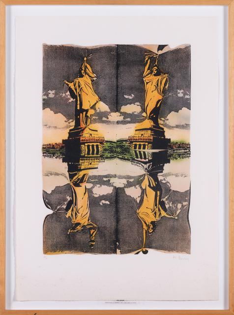 Pol Bury, 'Statue de la liberté', 1991, Print, Color lithograph, PIASA