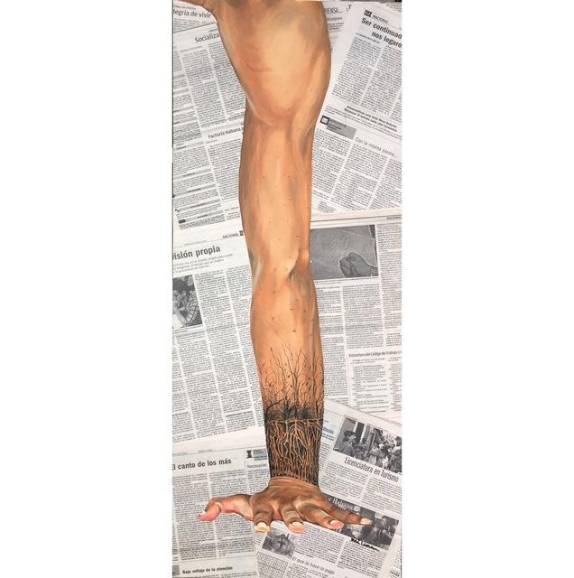 Milena Martinez Pedrosa, 'Hand Stand', 2016, Martinez-Pedrosa Studio