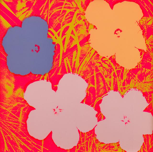 , 'Flowers,' 1970, Susan Sheehan Gallery
