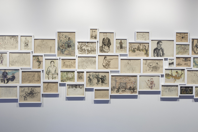 , 'Light and Belief: Sketches of Life from the Vietnam War,' 2012, 10 Chancery Lane Gallery