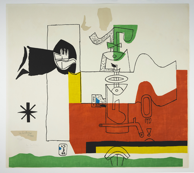 , 'Totem (hand-signed),' 1963, Placart