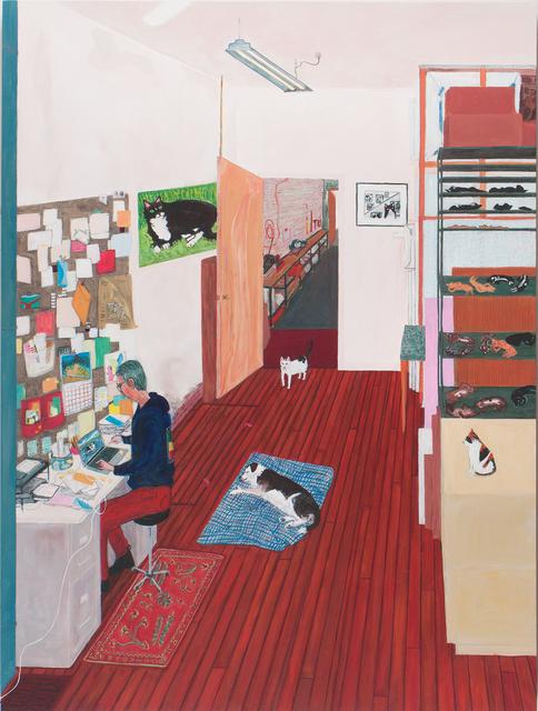 , 'Office Work,' 2016, Locks Gallery