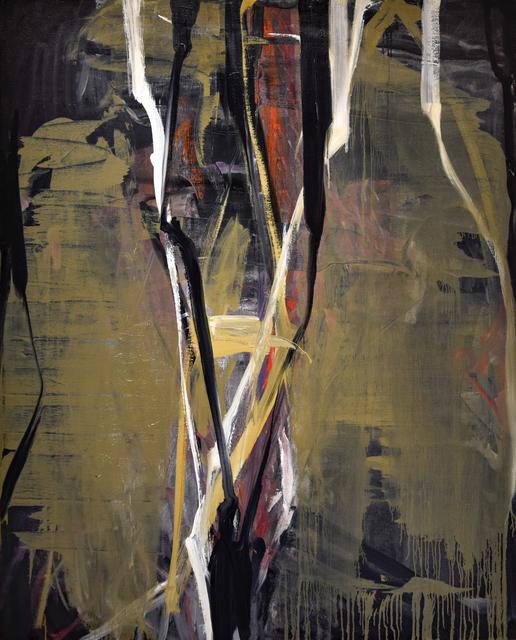 , 'Tan Over Black,' 2014, Robischon Gallery