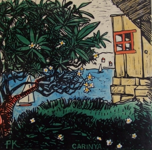 , 'Frangipani house Mackerel Beach,' 2010, Australian Galleries