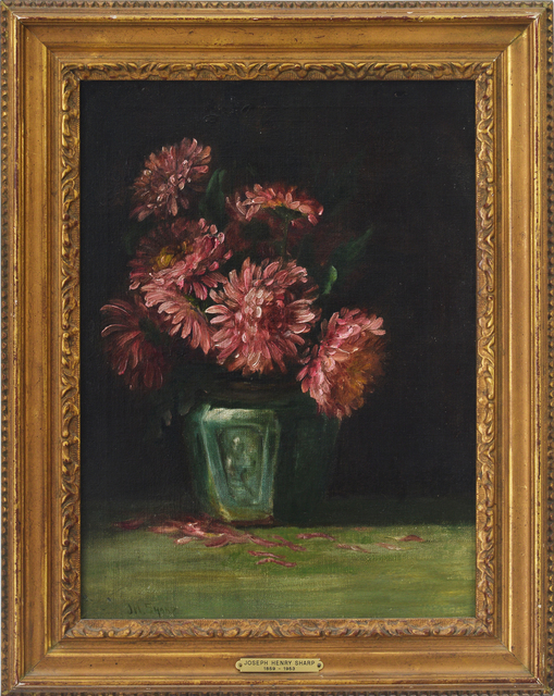 , 'Flowers in a Vase,' , Eisele Fine Art