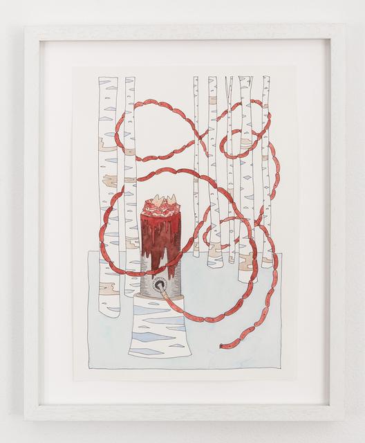 , 'Woodland Sausage Stuffer,' 2014, Denny Gallery